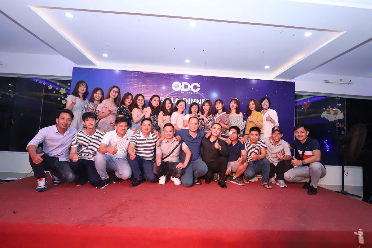 Đồng hành cùng team building QDC Design & Build tại Mũi Kê Gà